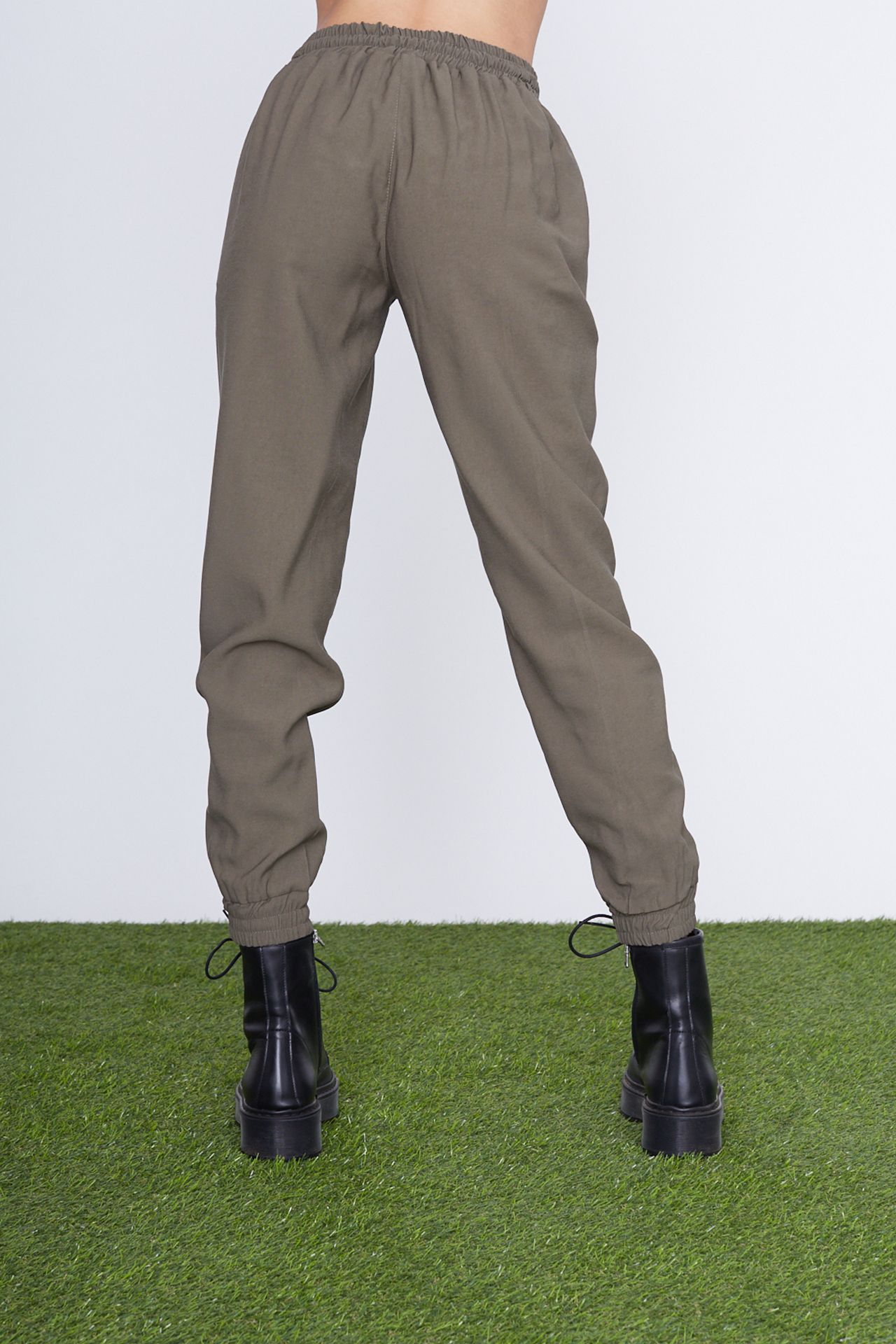 Pantalone coulisse - militare Brend