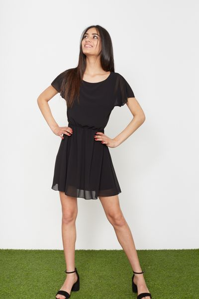 Mini-dress taglio vita