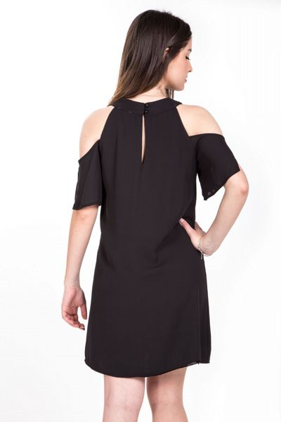 Abito cut-out - nero Brend