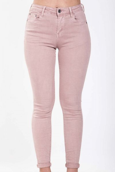 Jeans skinny 5 tasche - rosa Brend
