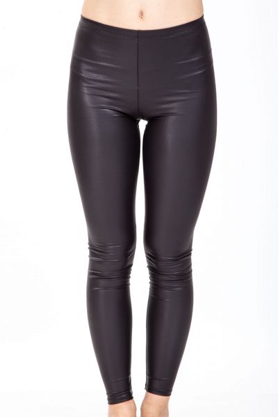 Leggings in ecopelle Brend