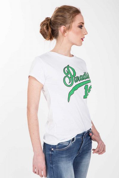 T-shirt con stampa - stampa verde Brend