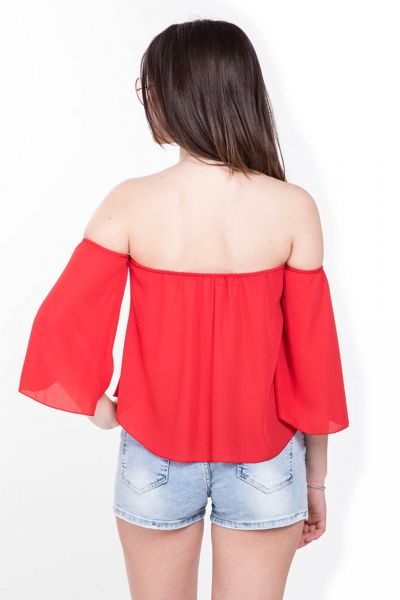 Top Shiffer - rosso Brend